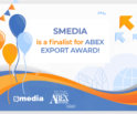sMedia becomes a finalist for the Abex Export Award