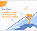 sMedia is #1 fastest-growing company in Saskatchewan in 2019